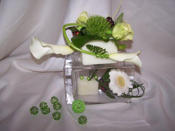 Atelier d'art floral le 25 Aout chez Anne-marie