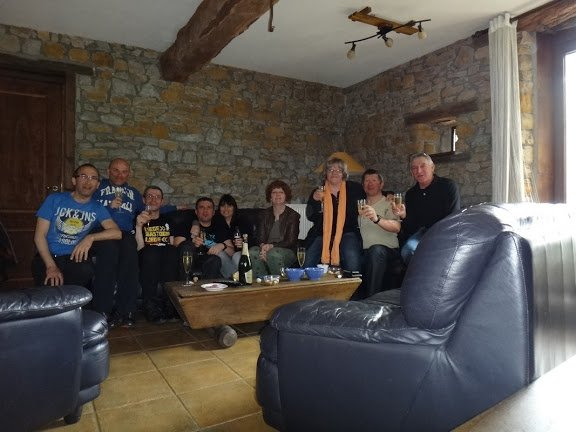 Super Week-End avec des amis a Liege Bastogne Liege