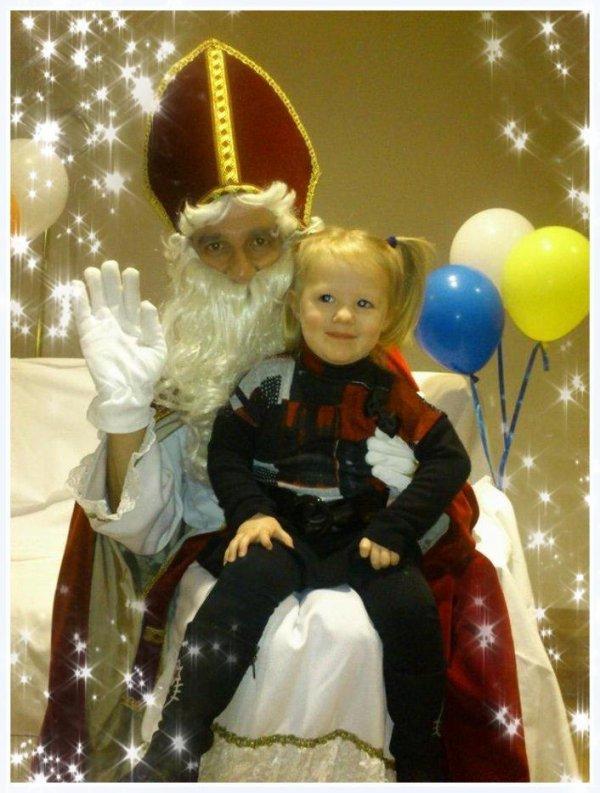 Saint Nicolas et ma petite puce