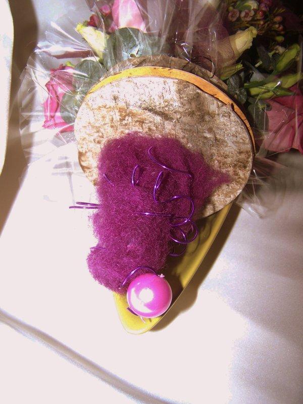 Une brochette fleurie