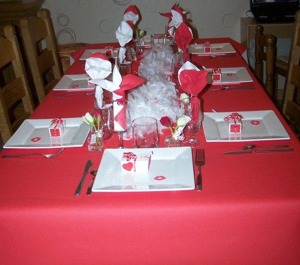 Une petite soirée avec les amis pour la St valentin