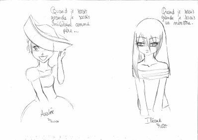 Brèves de carnet... (4) Spécial filles