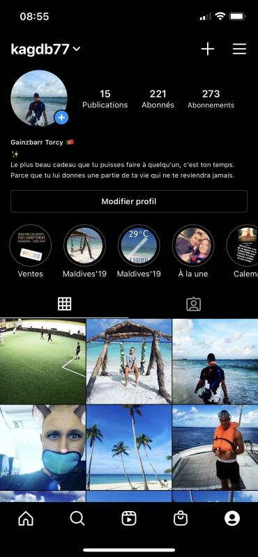 Rejoins moi sur Instagram