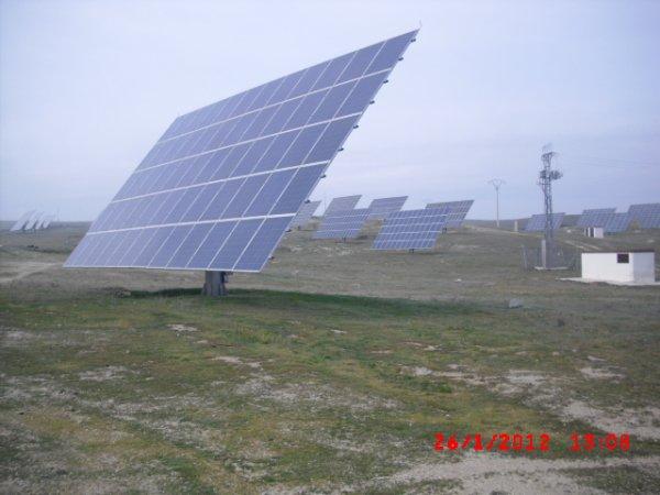 Solar campos SOLARIA / GIE EREFI colaboración 2012