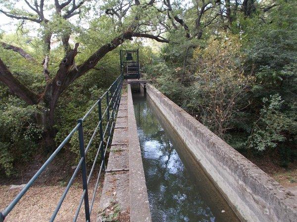 balade  le lon  du canal