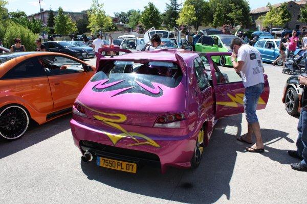 """Meeting du """" custom car 30 """" à Saint Christol les Alés"""
