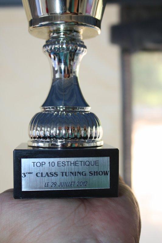 TOP 10 au 3eme class tuning show
