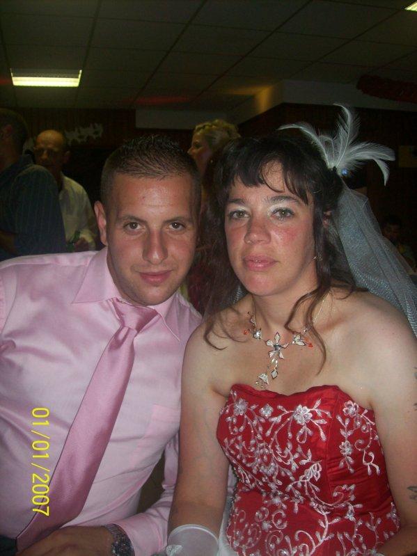 moi et fanny a son mariage !!!!