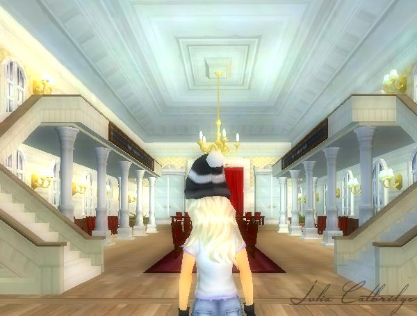 La salle des clubs de Silver... Presque un chateau!