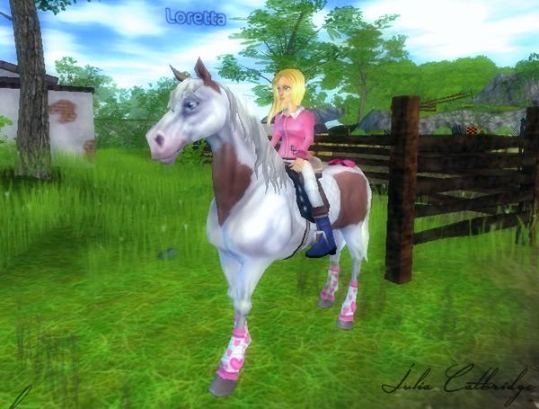 Loretta, la voleuse de chevaux...
