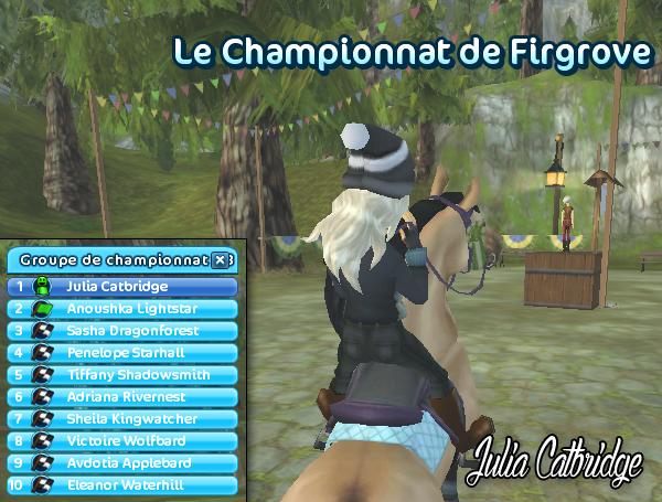Championnat Firgrove 16H00