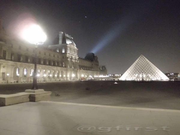 Depuis le lOUVRE (Paris)