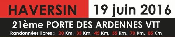 """Haversin  """"La Porte des Ardennes""""  le 20 juin 2016"""
