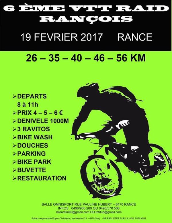 Raid Rançois , le 19 février 2017