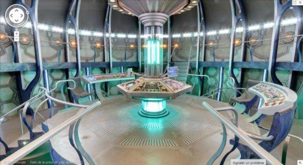 Visitez le TARDIS dans Google Maps