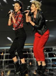 Katie Waissel et Cher Lloyd