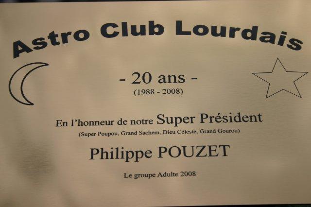 Les 20 ans de l'ASTRO CLUB LOURDAIS