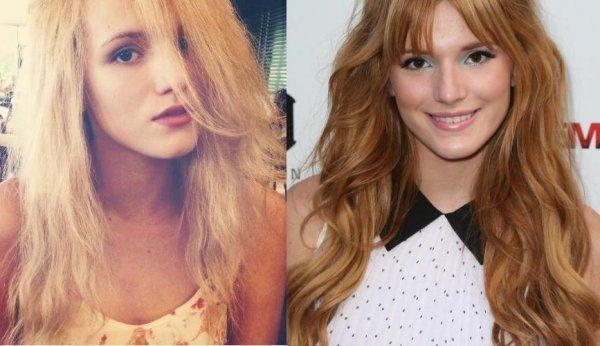 Bella Thorne est elle Blonde ou Rousse ? 1er partie