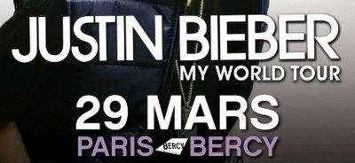 J-8 : gagne tes 2 places pour le concert de Justin Bieber !!