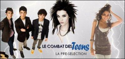 TEENS : Vote pour tes jeunes artistes préférés !