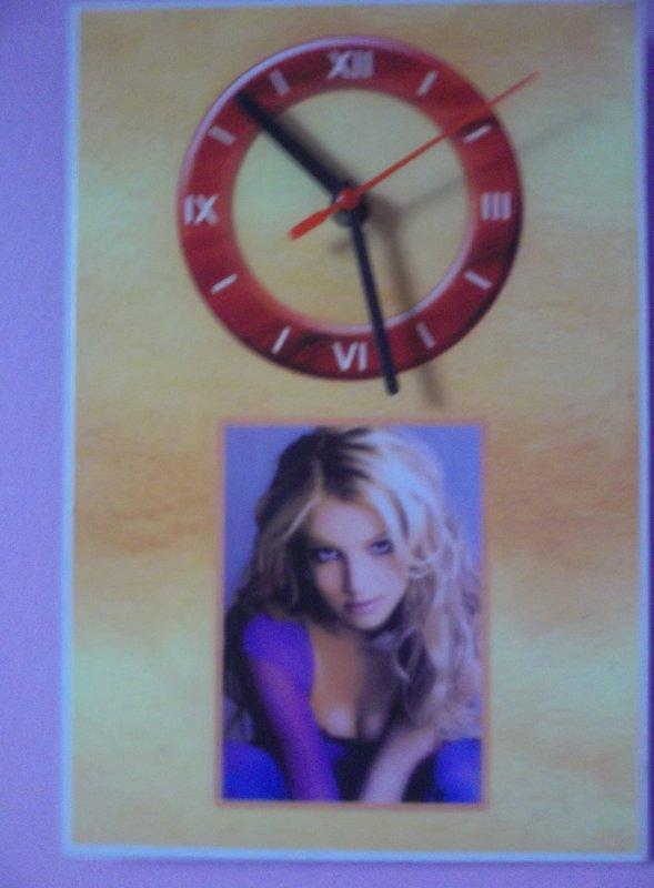 L'horloge Britney Spears