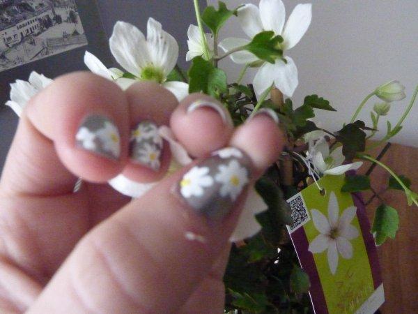 nail art printannier