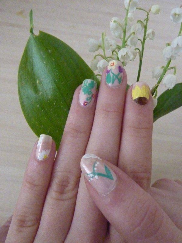 Première participation à un concours nail art