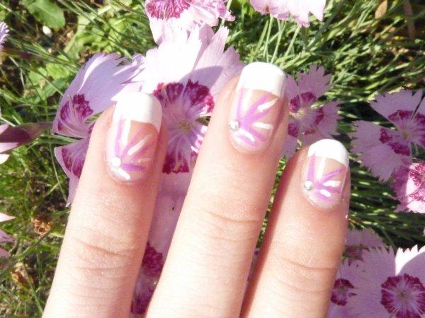 french + fleur éclaté