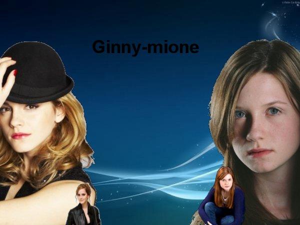 Hermione et Ginny.