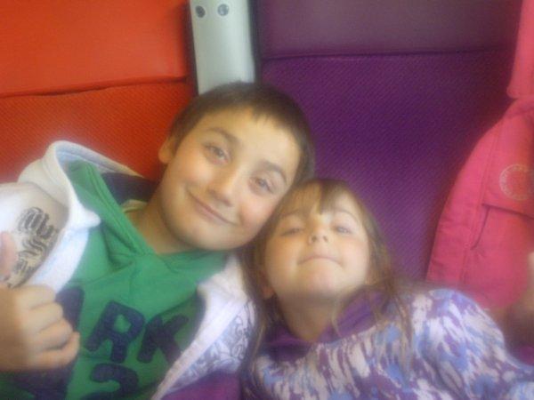 mes deux enfants