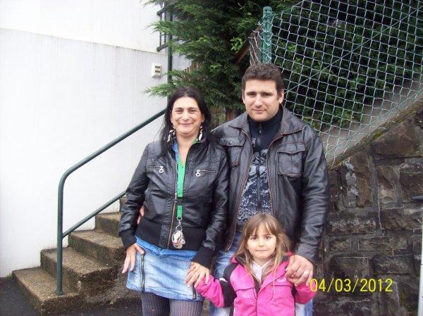 moi et ma pt famille