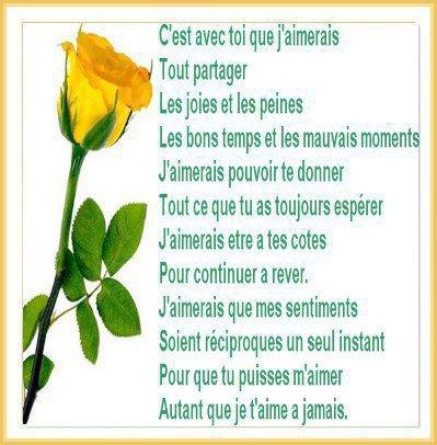 jolie poeme