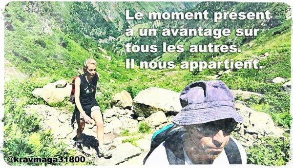 Préparation physique pour le Krav Maga en montagne avec David Masset.