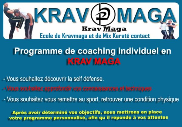Coaching individuel avec David Masset instructeur officiel en krav maga
