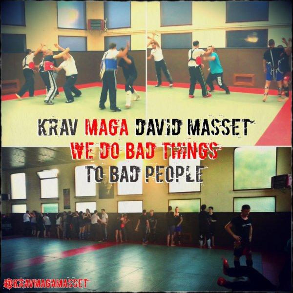 krav maga avec David Masset - we do bad things to bad people