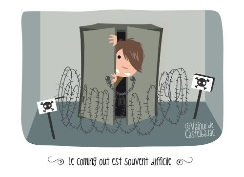 De Vaïnui de Castelbajac, illustration lesbienne n°1