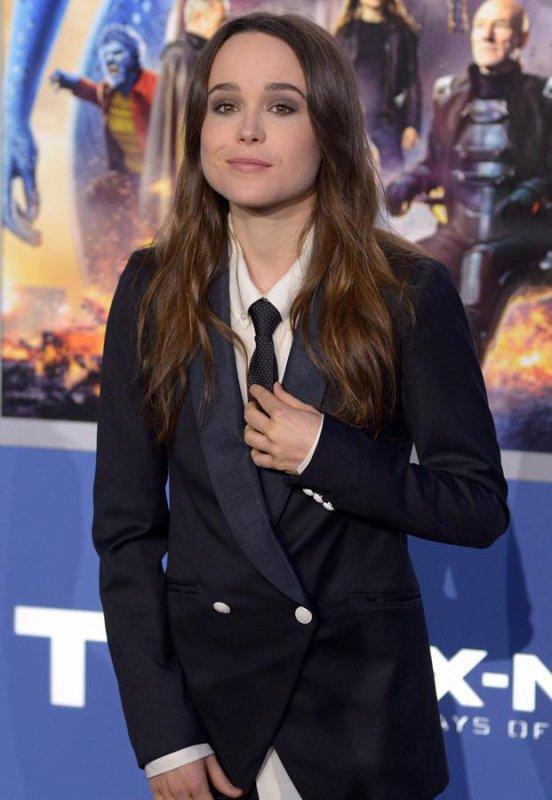 5-Un peu de classe... Ellen Page