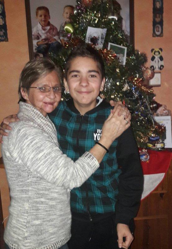 Mon 1 ier ptit fils, Melvyn ; 13 ans.