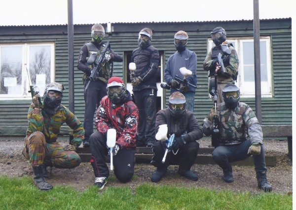 journée paintball