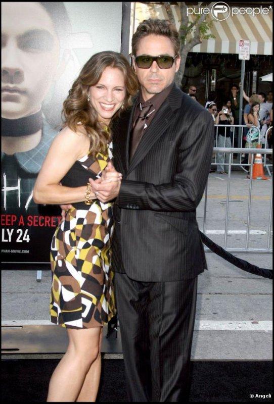 Voici la femme la plus chanceuse du monde....J'ai nommée : Susan Downey !