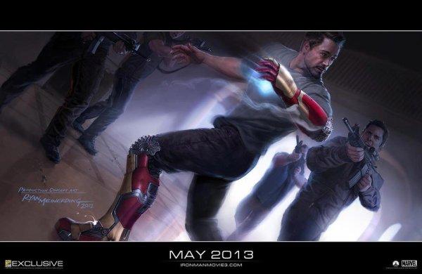 Petit avant goût de ce qu'on aura dans Iron Man 3 ! Via :(Toujours la même page)