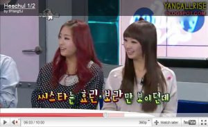 - MIGHTY SISTAR ! Sistar & Hyorin 'STAR RADIO' + LAP  -