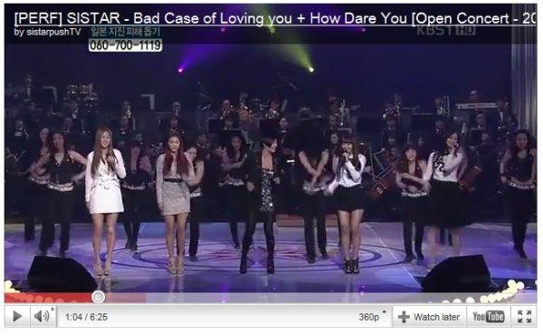 - MIGHTY SISTAR ! Open Concert + Bora pour Galaxy Player   -