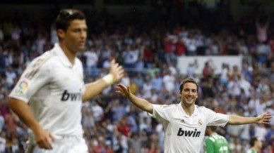 Mourinho fan de Cristiano Ronaldo et de Higuain