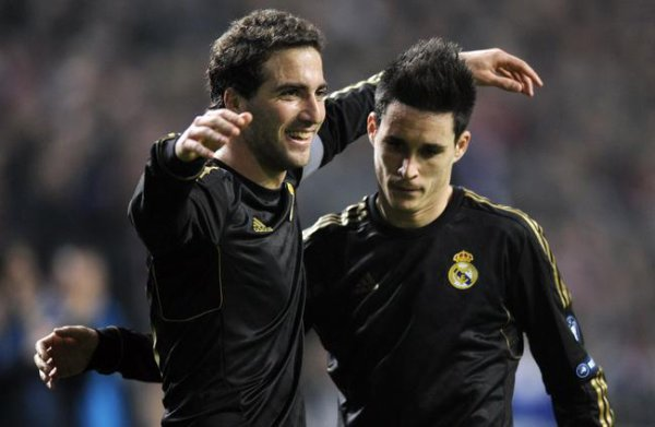 Higuain fait ses adieux au Real Madrid.... :'(