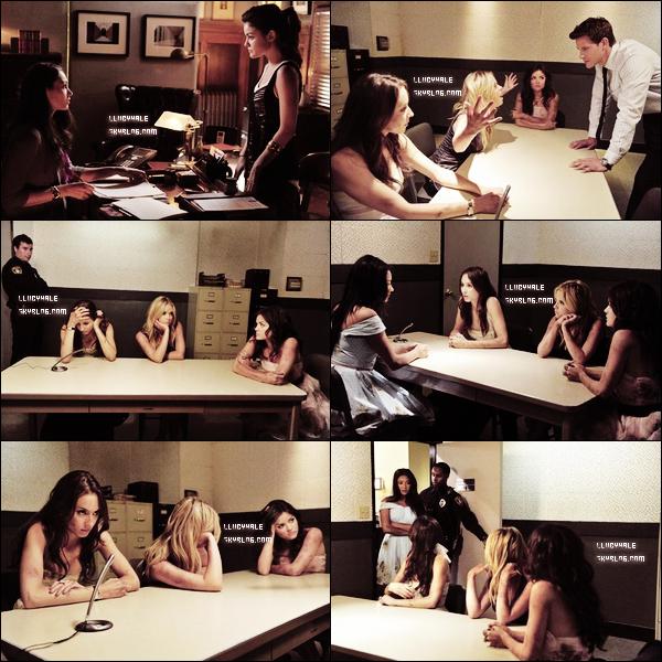 """Stills 2x12 """"Pretty Little Liars"""" C'est également l'avant dernier épisode de l'année 2011, il faudra donc attendre le dernier en octobre et la suite de la série dans les alentours de janvier 2012."""