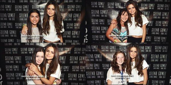 23/08/13 : Meet & Greet de Selena avec des fans après son concert à Montréal