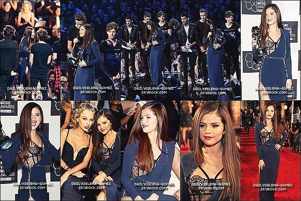 25/08/13 : Selena était présente au MTV Vidéo Awards 2013