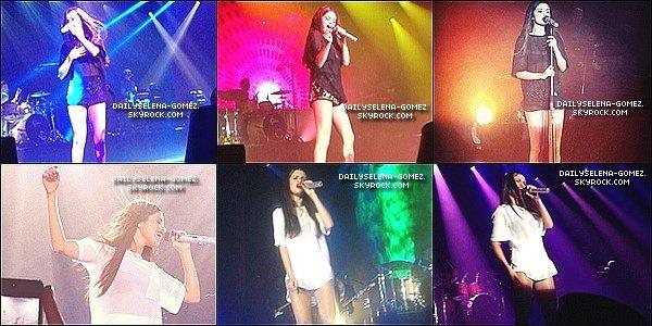 31/08/13 : Voici les photos du concert de Selena à Stockholm