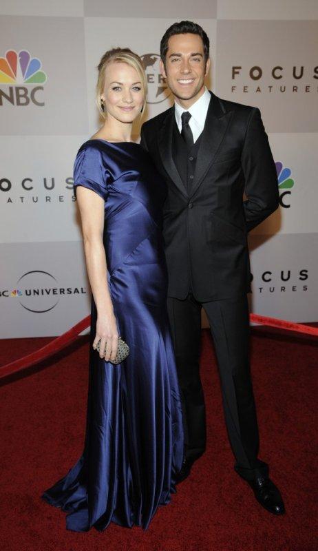 Yvonne et Zac aux Golden Globes
